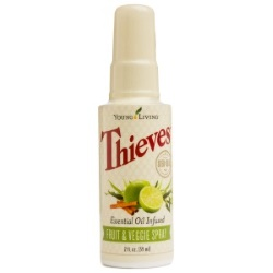 Thieves Fruit & Veggie Spray 2 fl oz